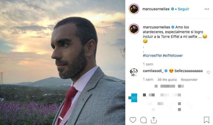 Marcus Ornellas. Foto: Instagram