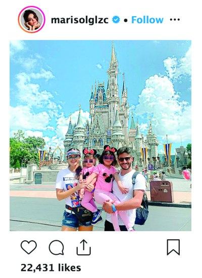 Familia de Marisol González. Foto: IG Marisol González