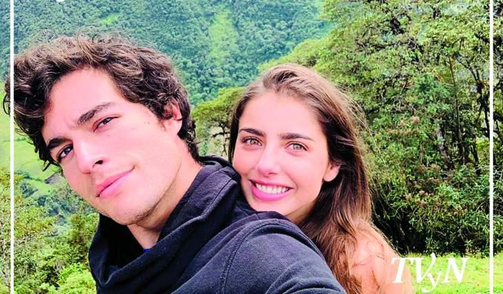 Michelle Renaud y Danilo Carrera. Foto: IG Michelle Renaud
