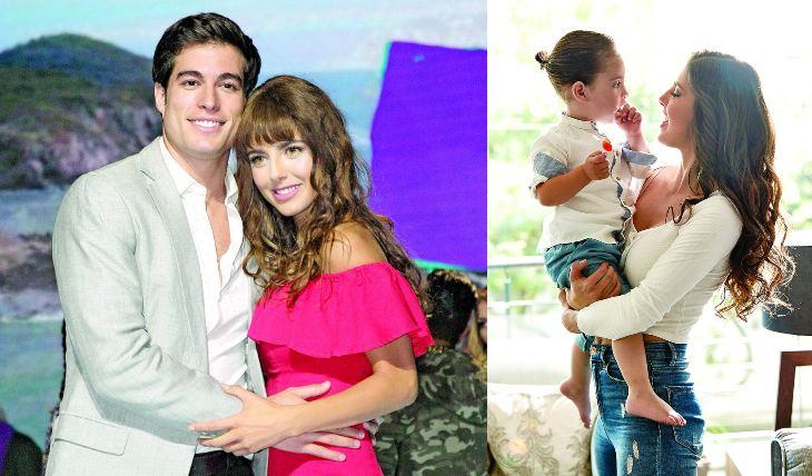 Michelle Renaud y Danilo Carrera. Foto: Archivo