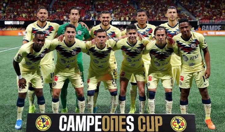 Equipo de futbol América. Foto: Getty Images