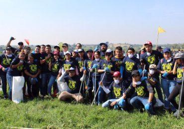 Primer Gran Voluntariado Televisa Izzi Verde | Foto: Edson Vázquez