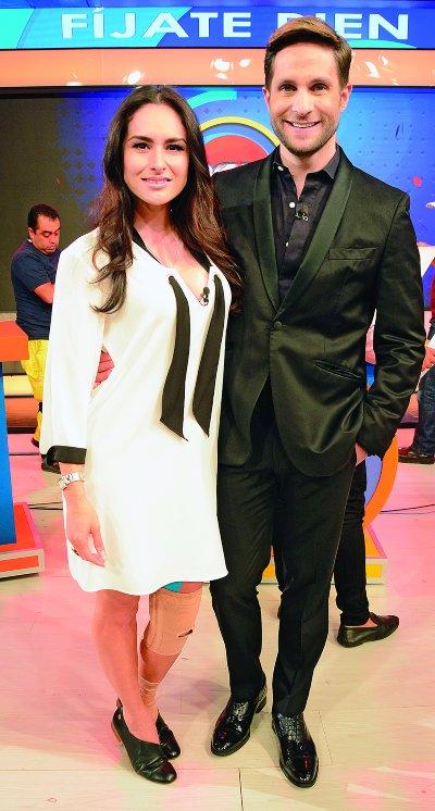 Wendy Braga y Paco de María. Foto: Ricardo Cristino