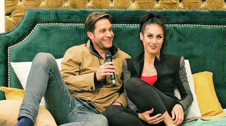 Wendy Braga y Paco de María. Foto: YT Inseparables
