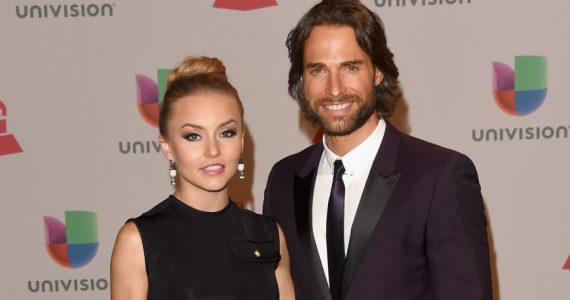 Angelique Boyer, Sebastián Rulli. Foto: Getty Images