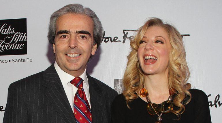 Lorenzo Lazo, Edith González. Foto: Getty Images
