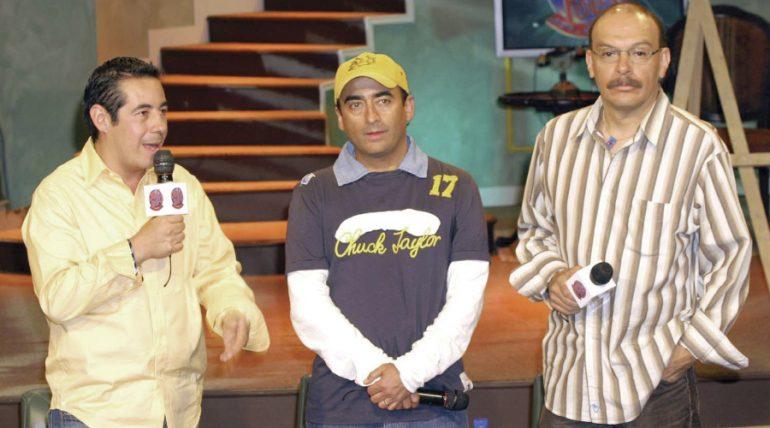 Yordi Rosado, Adal Ramones, Mauricio Castillo. Otro Rollo. Foto: Archivo Televisa