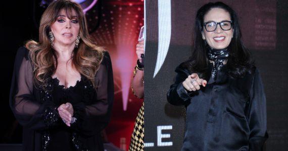 Veronica Castro, Yolanda Andrade. Fotos: Edson Vázquez
