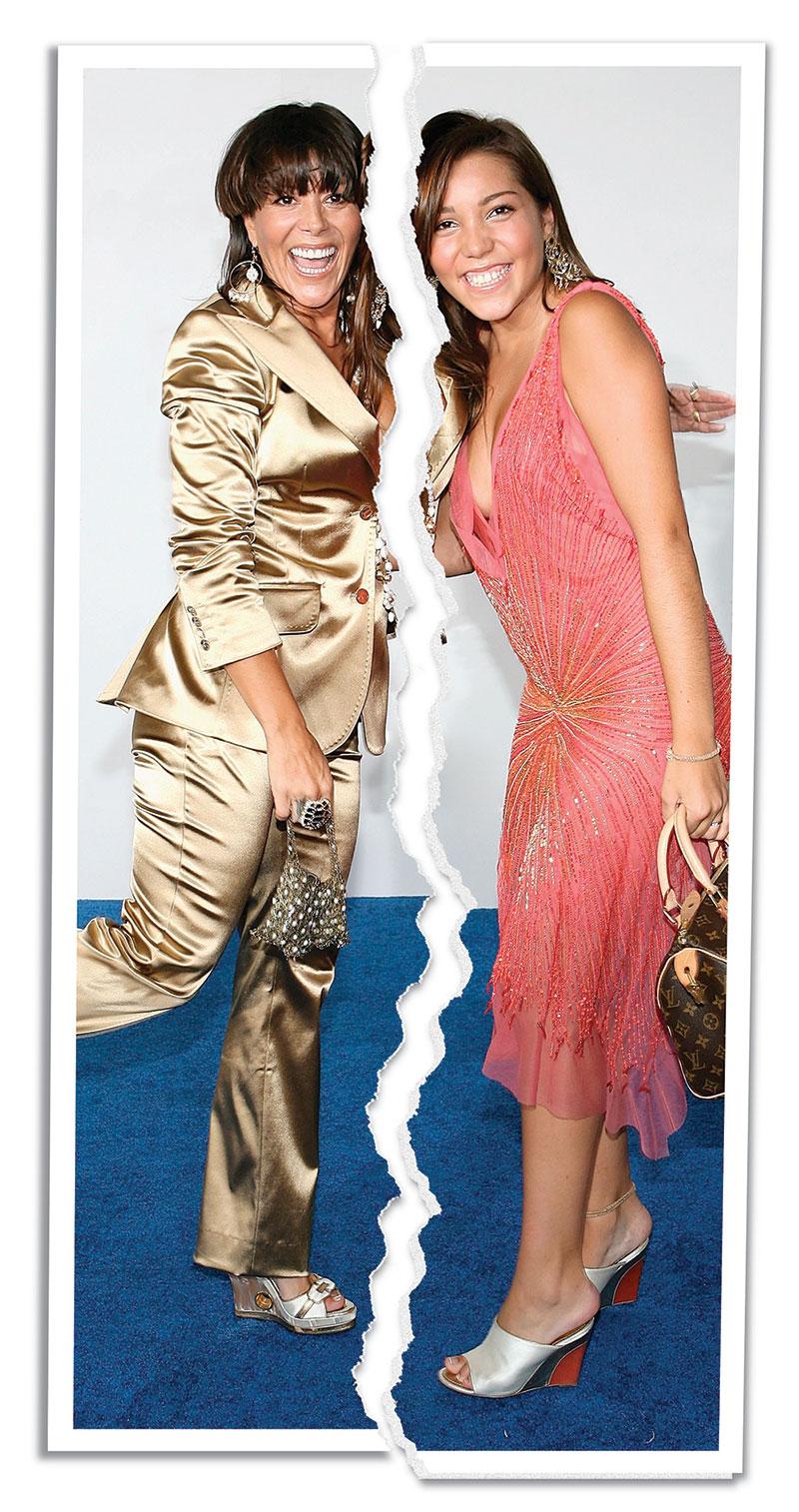 Alejandra Guzmán y Frida Sofía. | Foto: Getty Images