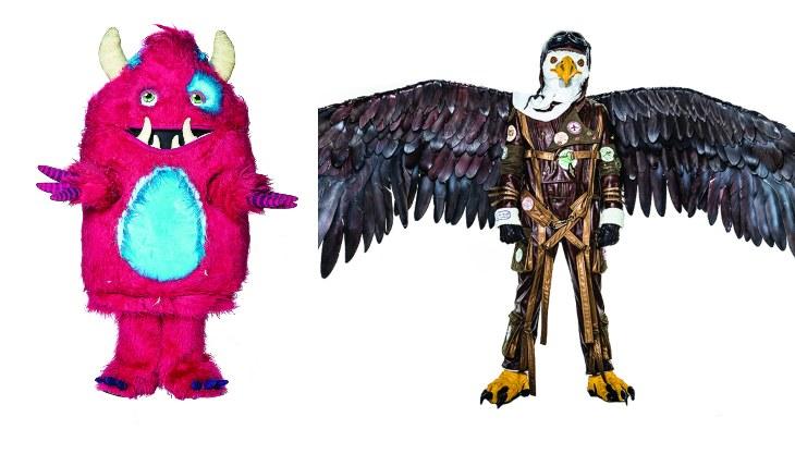 Monstruo y Águila. Foto: Cortesía