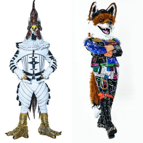 Gallo y Zorro. Foto: Cortesía
