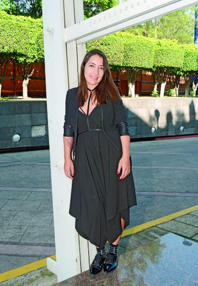 Alinne Salinas. Foto: Rubén Espinosa