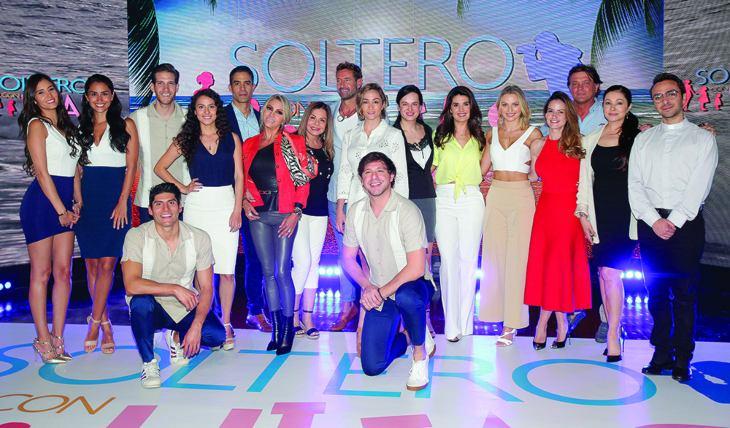 Elenco de Soltero con hijas. Foto: José Luis Ramos