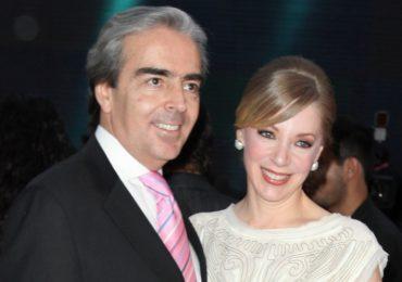 Lorenzo Lazo y Edith González. Foto: Getty Images