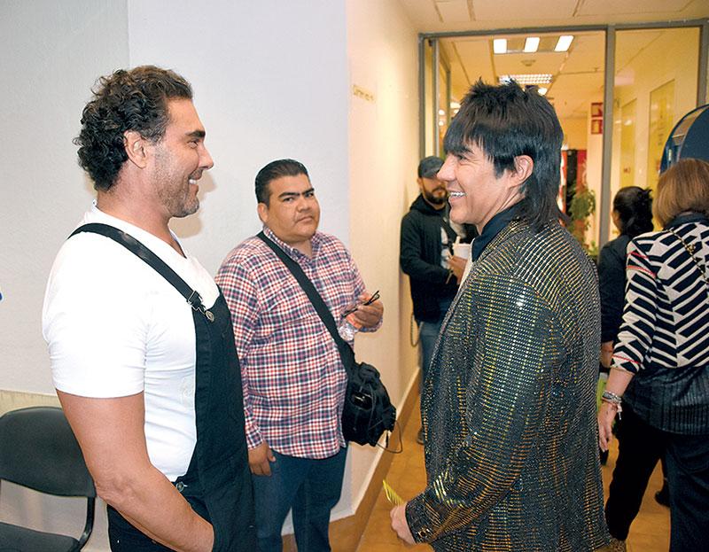 Eduardo Yáñez y Adrián Uribe | Foto: Rubén Espinosa