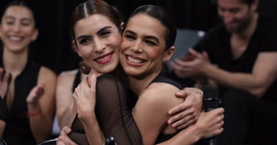 María León y Biby Gaytán. Foto: Edson Vázquez