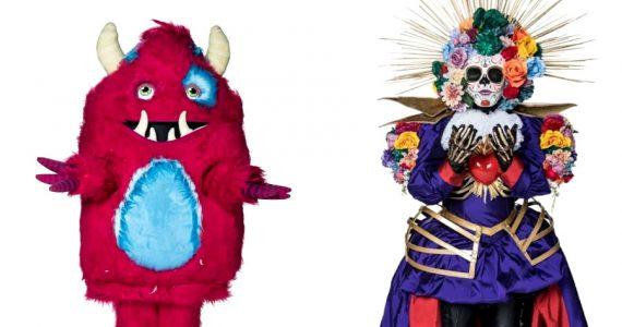 Monstruo y Catrina | Foto: Televisa