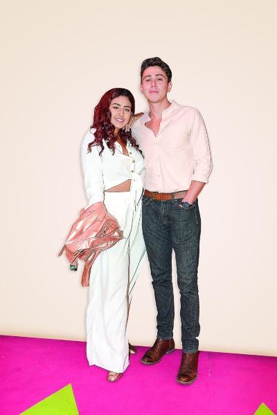 Romina Marcos lleva un año con su novio, y asegura que todo marcha de maravilla. Foto: Jaime Nogales