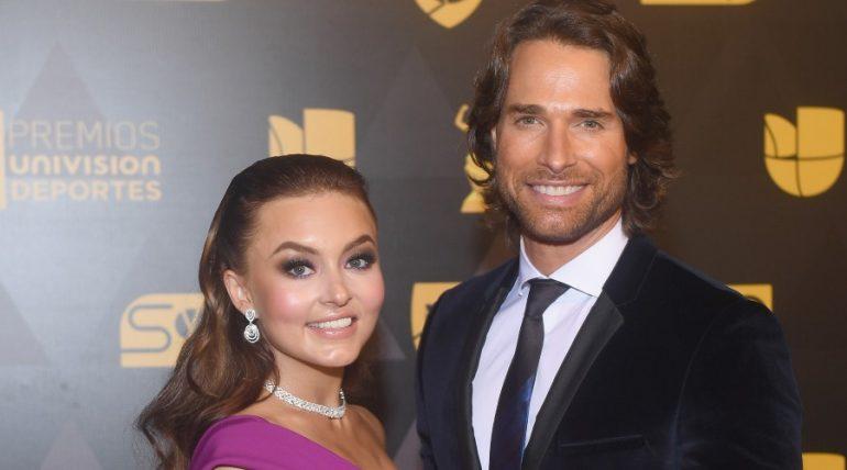 Angelique Boyer y Sebastián Rulli. Foto: Getty Images