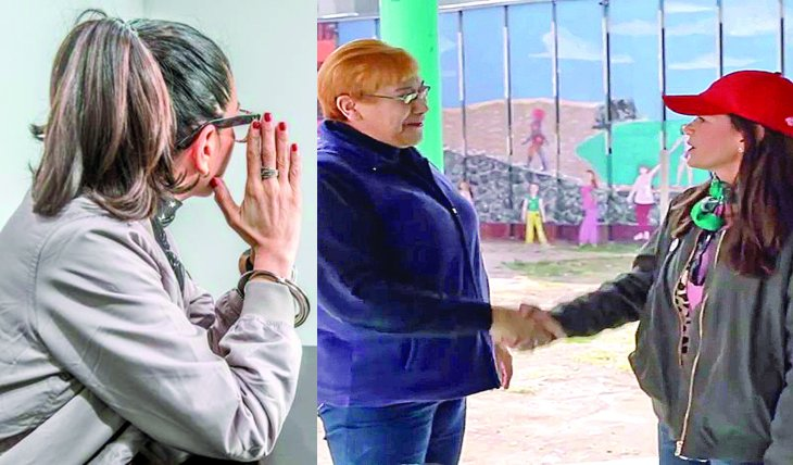 """Yolanda Andrade y Juana Barraza, alias """"La Mataviejtas"""". Foto: Cortesía Consecuencias"""