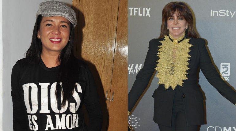 Yolanda Andrade y Verónica Castro. Foto: Archivo TVyNovelas