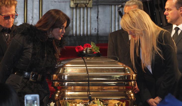 Lucía Méndez y Dulce. Foto: Getty Images