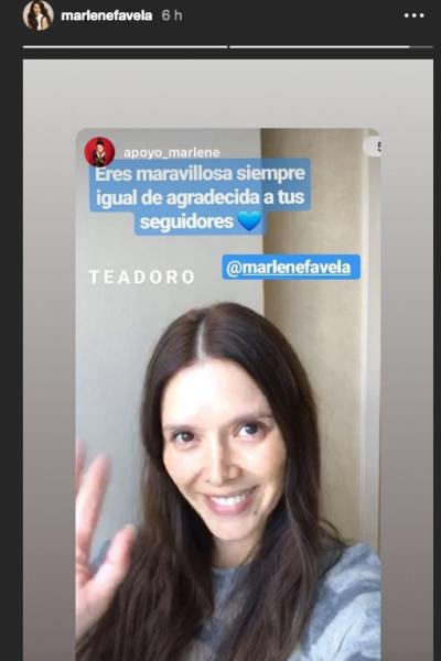 Marlene Favela. Captura de pantalla Instagram @marlenefavela