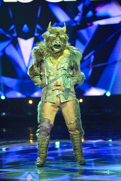 Alan Ibarra fue Minotauro en ¿Quién es la máscara? Foto: Cortesía