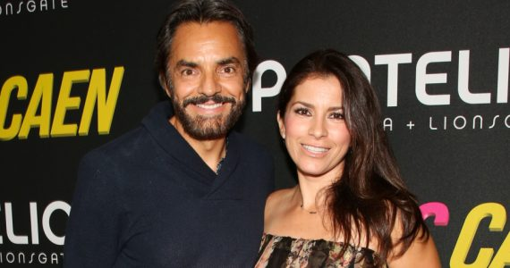 Eugenio Derbez, Alessandra Rosaldo. Foto: Getty Images