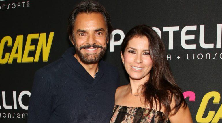 Eugenio Derbez, Alessandra Rosaldo. Foto: Getty Images