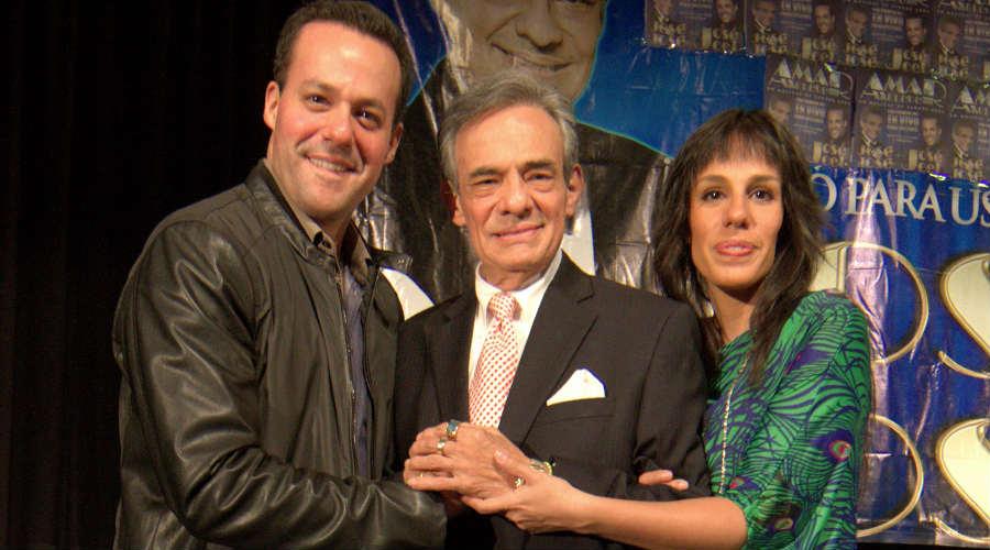 José Joel, José José y Marysol Sosa. Foto: Getty Images