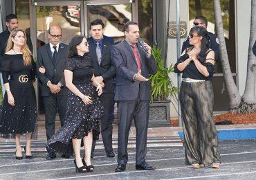 Velorio de José José   Foto: Luis Fernández
