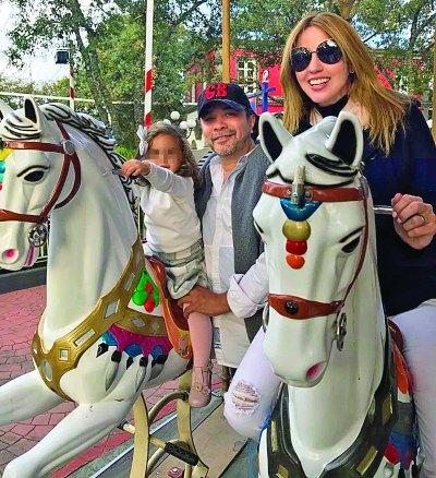 Raquel Bigorra y familia. Foto: Archivo