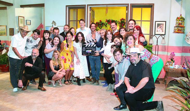 ÚLTIMO TRABAJO. Este año fue muy importante para Rebecca, ya que regresó a Televisa para formar parte del elenco de la telenovela Doña Flor y sus dos maridos. Foto: José Luis Ramos