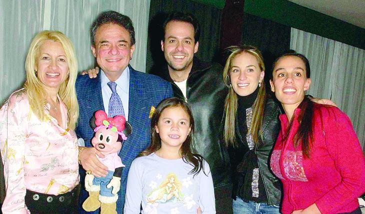 José José, Sara Salazar, Sarita, José Joel, Donaji y Marysol. Foto: Archivo TVyNovelas