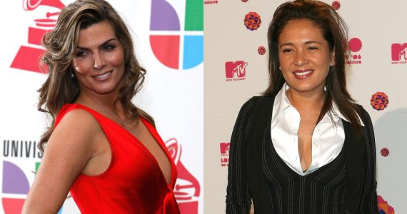 Montserrat Oliver, Yolanda Andrade. Fotos: Getty Images