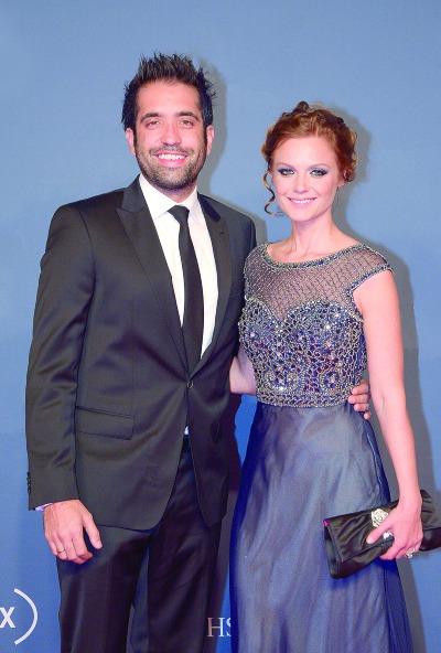 Rodrigo Moreira y Ana Layevska. Foto: Archivo