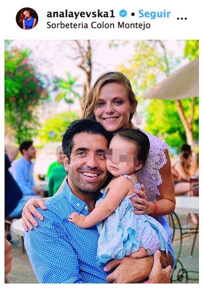 Rodrigo Moreira, Masha y Ana Layevska. Foto: Instagram