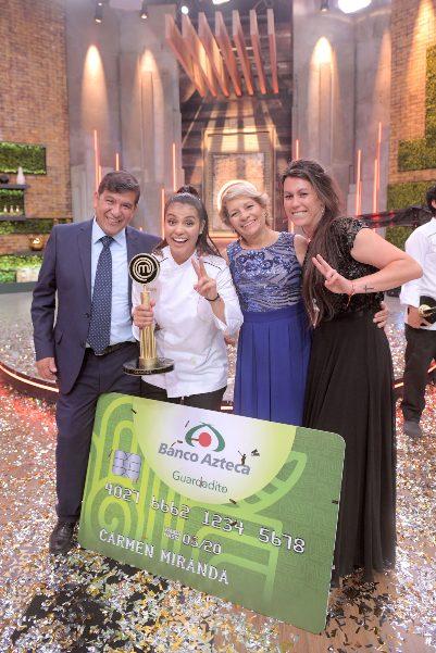 Carmen Miranda, ganadora de MasterChef La Revancha. Foto: Cortesía