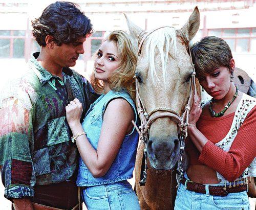 HISTORIA DE AMOR. Los actores tuvieron una gran química desde que se conocieron en la telenovela La dueña. Foto: Archivo