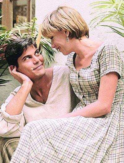LE BATALLÓ. Al inicio Francisco sufrió un poco para conquistar a Klitbo, ya que según la actriz, el cubano era muy lanzado. Foto: Archivo