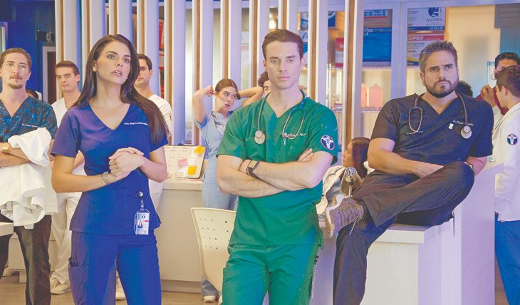 DESAFÍO. Ha tenido que aprender el lenguaje de los doctores para darle credibilidad a su personaje. Foto: Cortesía