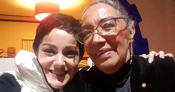 Lola Cortés y su mamá dolores Jiménez   Foto: Cortesía
