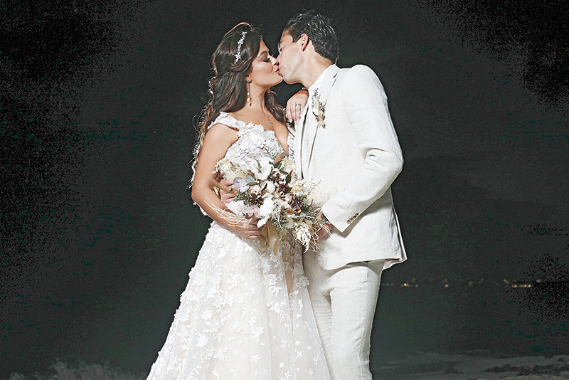 Boda de Mariana Echeverría y Óscar Jiménez | Foto: TVyNovelas