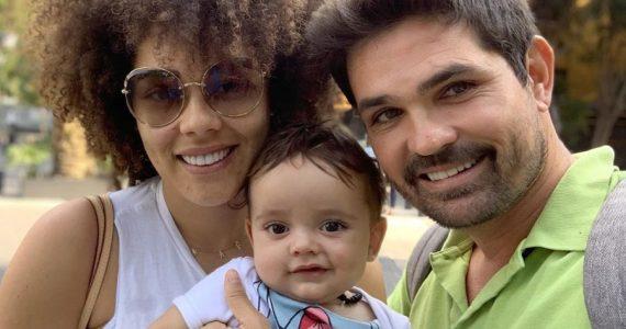 Brenda, Tadeo y Ferdinando. Foto: Instagram