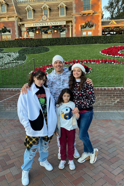 Jesse Huerta y familia. Instagram
