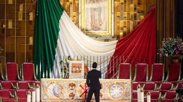 Mañanitas a la Virgen. Captura de pantalla Instagram @ _carlosrivera