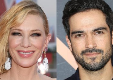 Cate Blanchett y Alfonso Herrera. Foto: Getty Images