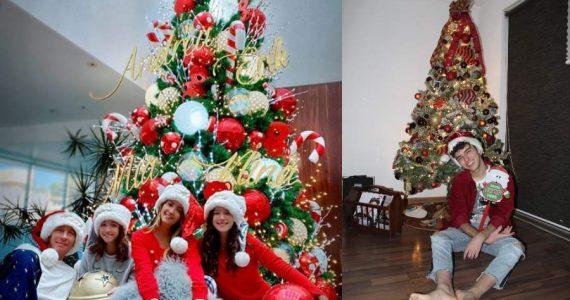 Árboles de Navidad de los Famosos. Foto: Instagram, Otto Rojas