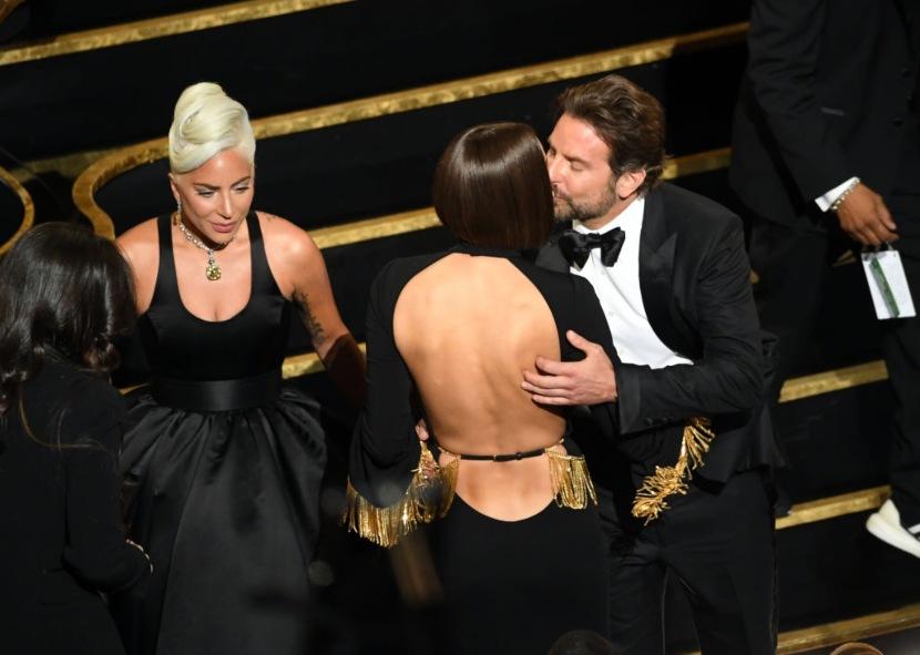 Lady Gaga, Irina Shayk y Bradley Cooper | Foto: Getty Images